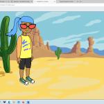 Programmieren mit Scratch - Homeschooling 16. April, 2021 /  KLASSEN 1d, 4e, 4b